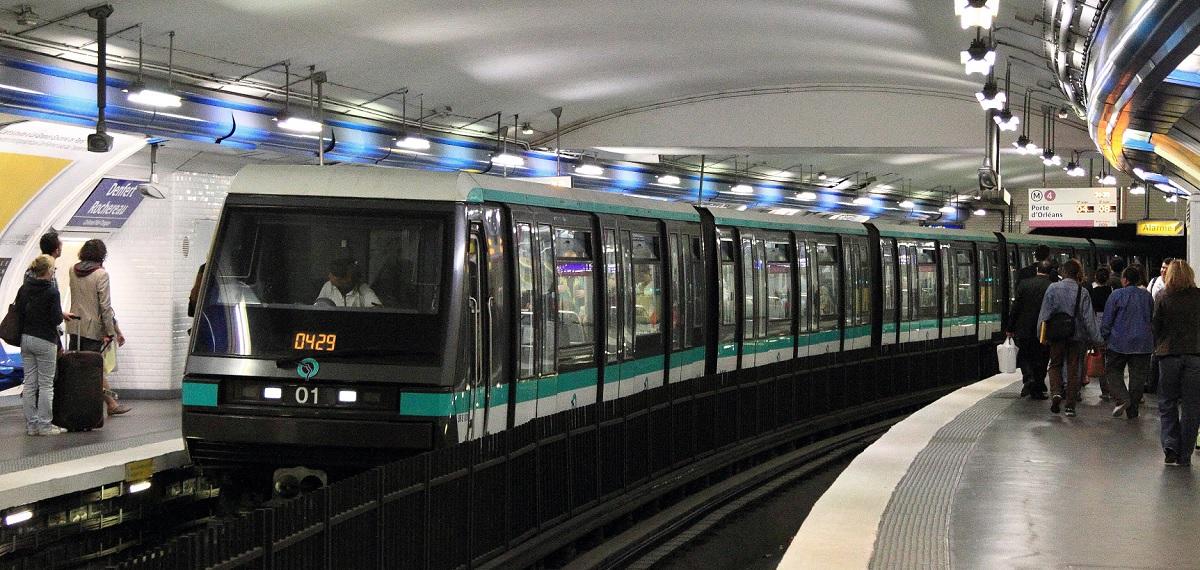 Rame MP89 - Métro Ligne 4 RATP (c) Cramos78 - Wikipedia