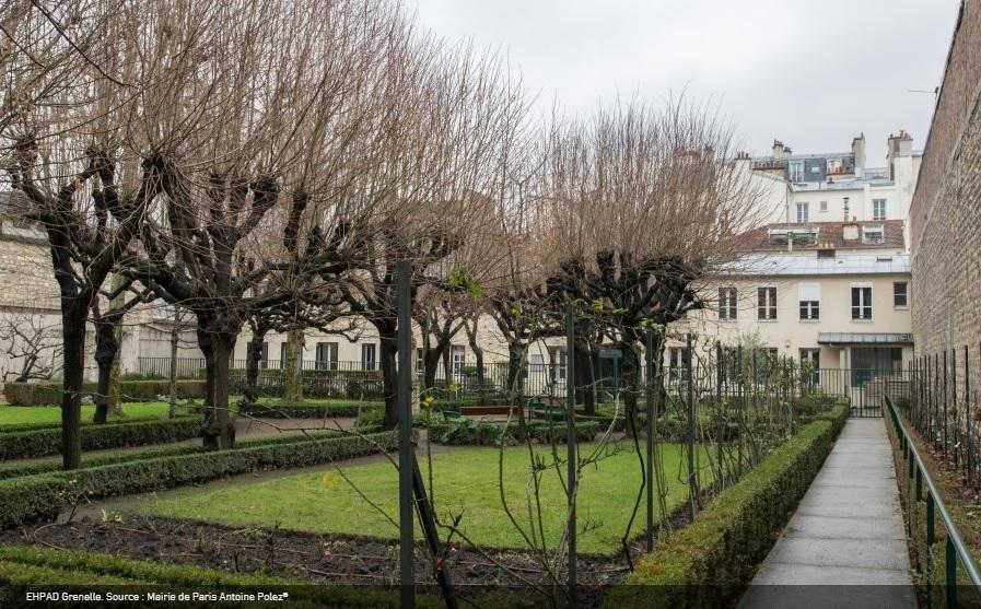 EHPAD Grenelle - Paris 15 - Parisculteurs (c) Antoine Polez Mairie de Paris