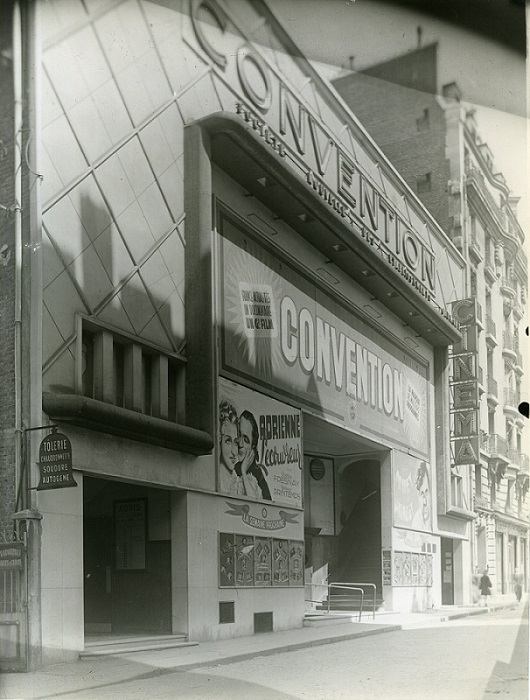 1938_Gaumont Convention_facade jour - Paris 15 (c) Louis Sylvestre