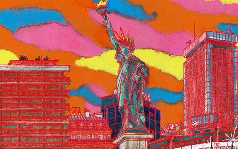 Statue de la Liberté - Exposition Kojiro Acagi - Mairie Paris 15