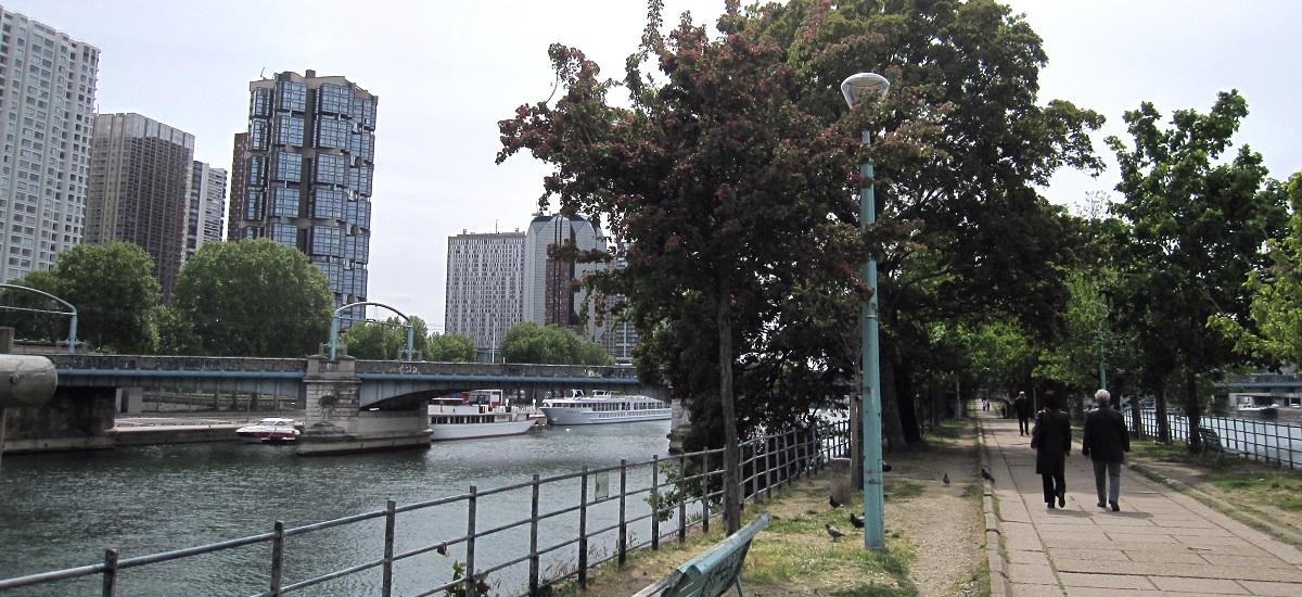 Allée des Cygnes - Beaugrenelle - Paris 15