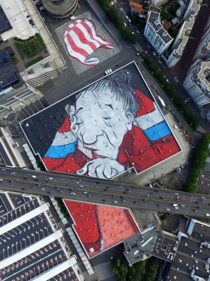 Fresque - Paris Expo Porte de Versailles - Paris 15 (c) Ella et Pitr