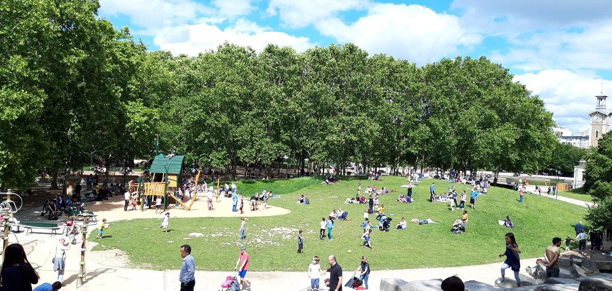 Parc Georges Brassens - Paris 15
