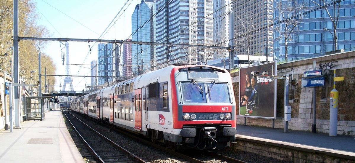 Interruption du trafic sur le RER C à Paris pendant l'été 2021