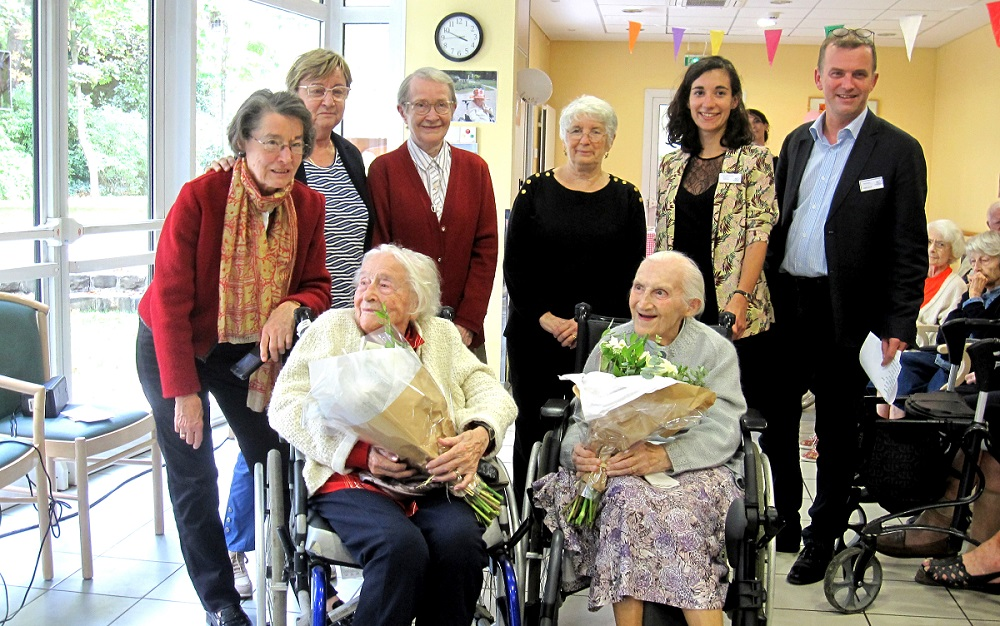Anniversaire centenaires EHPAD Grenelle - Paris 15