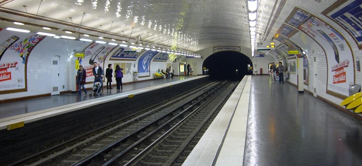 station metro ligne 12 - ratp