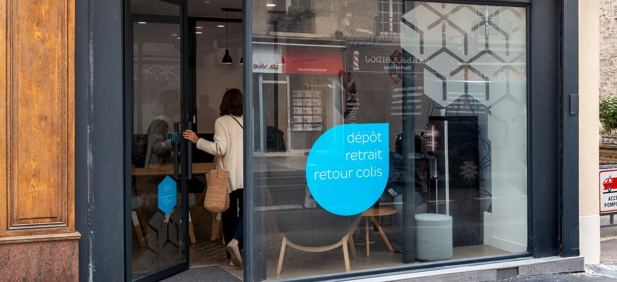 Chronocity - Chronopost - rue Lecourbe - Paris 15