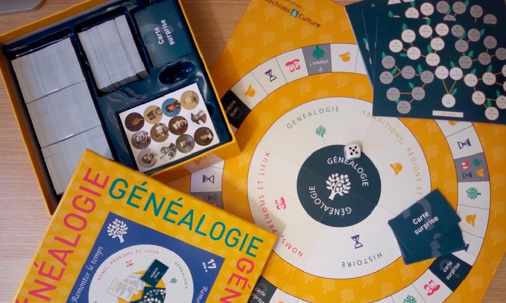 jeu généalogie - archives et culture - paris 15