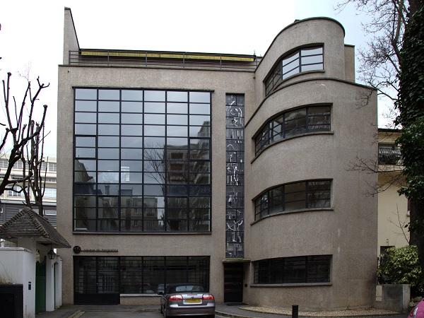 Atelier du maître-verrier Louis Barillet, imaginé par l'architecte Robert Mallet-Stevens en 1932