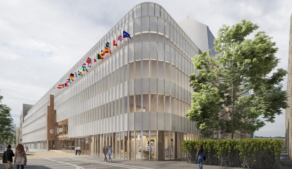 ESA - Agence Spatiale Européenne - rue Mario Nikis Paris 15 (c) Sogelym Ingénierie-Dixence