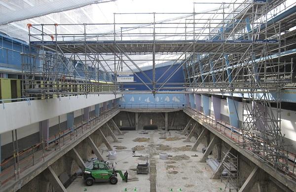 Bassin piscine Blomet travaux - Paris 15