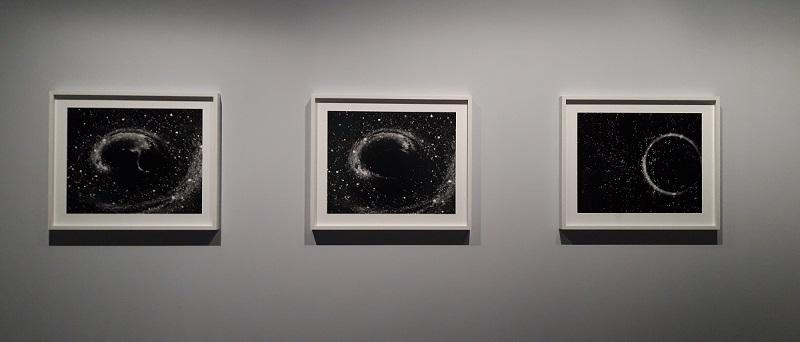 Black Hole Collision - Marina Gadonneix - Rever Univers - Musée Poste - Paris 15