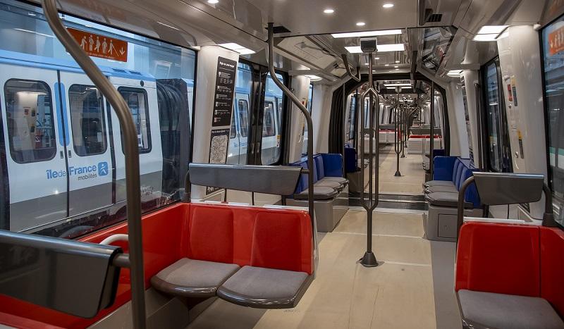 Nouveau train MP14 de la ligne 14 © RATP - Bruno Marguerite