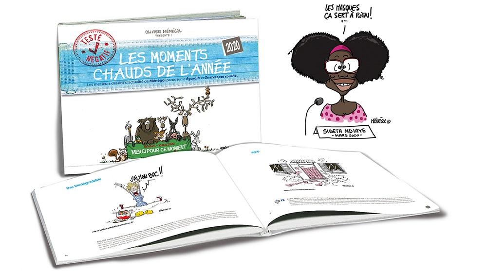 Livre année 2020 Olivier Ménégol