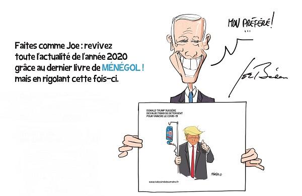 Livre année 2020 - Olivier Ménégol