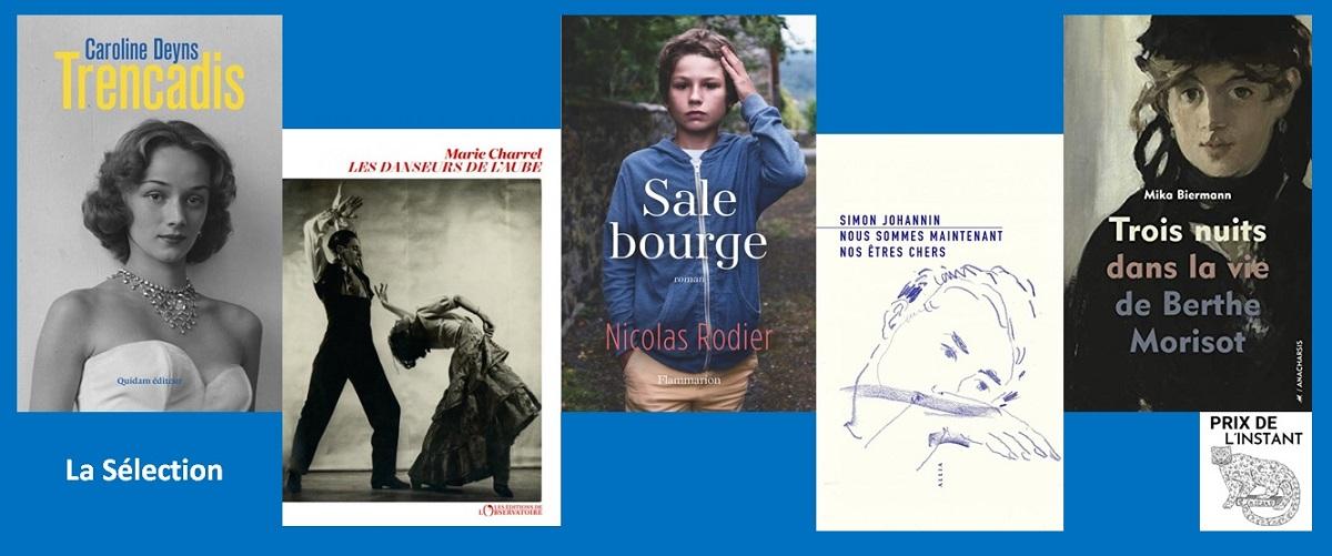 Sélection Prix littéraire de L'Instant Paris 15