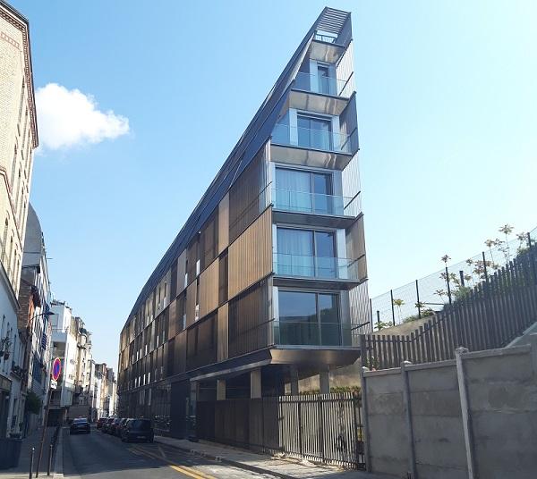Résidence Castagnary Paris Habitat - Pointe - 15eme arrondissement (c) Valgirardin