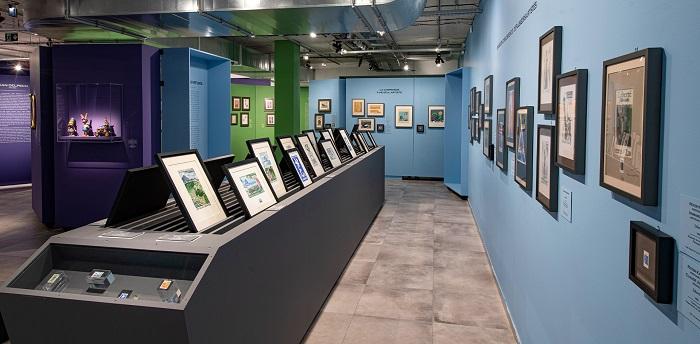 salle d'exposition A la pointe de l'art - Musée de la poste - paris 15