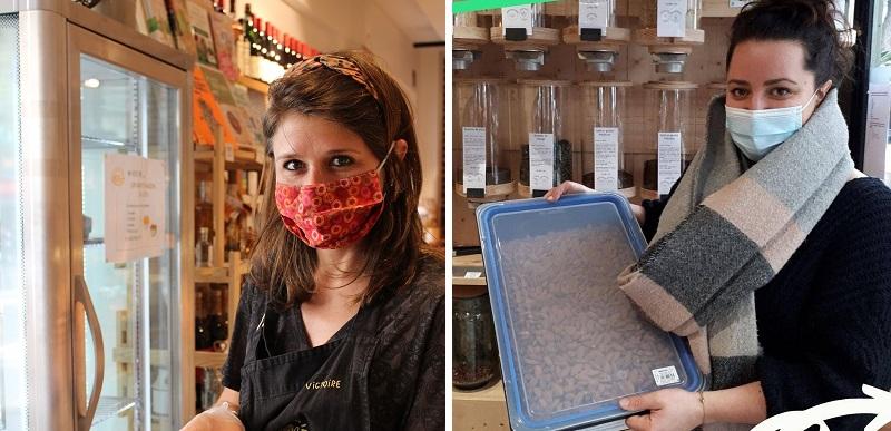 Victoire, Ma Petite Ferme - Anne-Laure, Boc's - Hub Vrac Paris 15